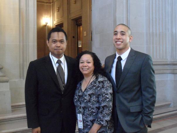 From left to right: PSD Edgar Velasco, PSD Kim Tuyay, and PSD