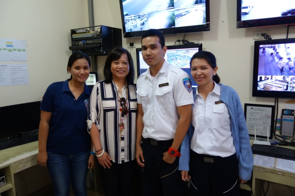 Cecile Soto, SF DEM 9-1-1 Operations Manager, with TaRSIER 117 Dispatchers.