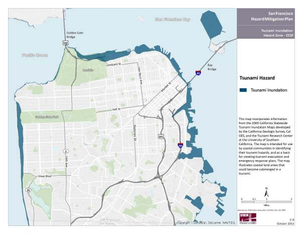 San Francisco's Tsunami Inundation Zones